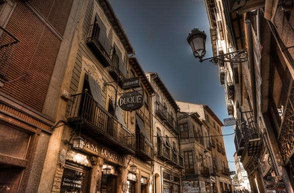 Shops in Spain.